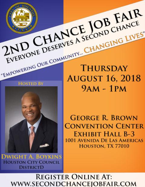 2nd Chance Job Fair